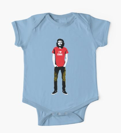 Hipster Che Guevara One Piece - Short Sleeve