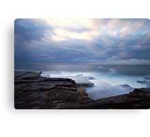 Cloudy Morning Canvas Print