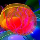 Neon Translucence by Elaine Bawden