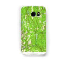 Massachusetts  USGS Historical Topo Map MA Barre 349983 1954 24000 Samsung Galaxy Case/Skin