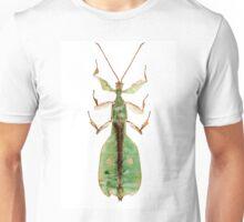 Leaf insect species Phyllium bioculatum male Unisex T-Shirt
