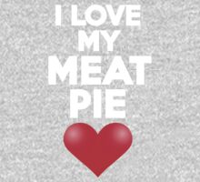 I love my meat pie Kids Clothes