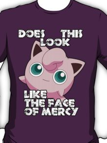 Jigglypuff - Face Of Mercy T-Shirt