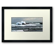 Mother Nature's Fury Framed Print