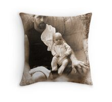 Father & Daughter Throw Pillow