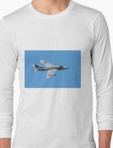 Hawker Hunter jet Long Sleeve T-Shirt