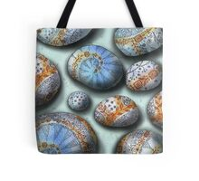 blue rocks  Tote Bag