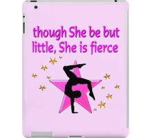 THIS GYMNAST IS FIERCE DESIGN iPad Case/Skin