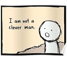 I am not a clever man Poster