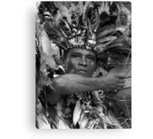The Chief of Boca Da Valeria ~ B&W Canvas Print