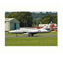 Hawker Hunter XL577 fighter Art Print