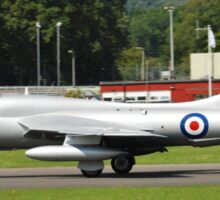 Hawker Hunter XL577 fighter Sticker