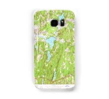 Massachusetts  USGS Historical Topo Map MA East Brookfield 350105 1954 24000 Samsung Galaxy Case/Skin