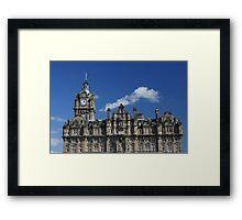 North British Line Framed Print