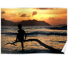 Ladigue first sunset Poster