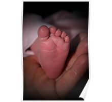 "New Creation - ""Baby Feet"" Poster"