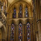 The Great East Window, Beverley, Minster by wiggyofipswich