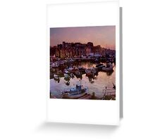 The Venetian Harbour Greeting Card