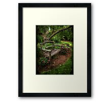 A place to gather... Framed Print