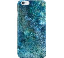Abstract blue scales iPhone Case/Skin
