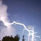 Lightening Crashes by Terra 'Sunshine' Gilbert
