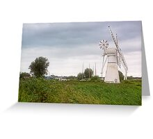 Thurne Windmill Greeting Card
