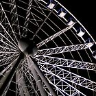 Brisbane Eye at night by thatkellychic