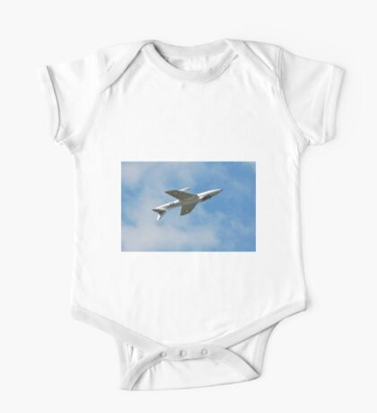 Hawker Hunter jet inverted One Piece - Short Sleeve
