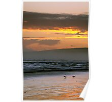 Sunset over Encounter Bay II Poster
