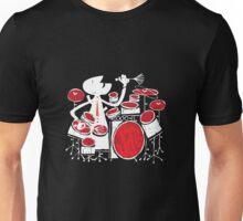 Jazz Drummer Unisex T-Shirt