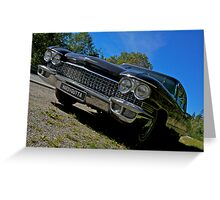 Riding with the king . Elvis Presley. Cadillac. Wedding Car . Views ( 496) favorited by (1) thanks ! Greeting Card