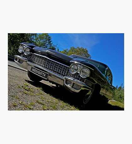 Riding with the king . Elvis Presley. Cadillac. Wedding Car . Views ( 496) favorited by (1) thanks ! Photographic Print