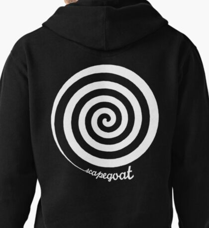 Scapegoat - White Graphic Pullover Hoodie