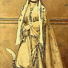 A Young Turkish Woman 19th century by Dennis Melling