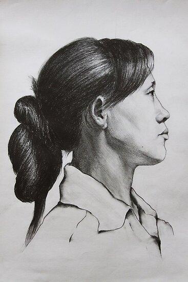woman by ShipeiWang