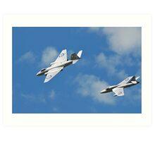 Cold War Jets Art Print
