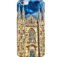 Facade of Cathedral Duomo in Milan iPhone Case/Skin