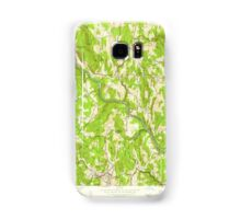 Massachusetts  USGS Historical Topo Map MA Shelburne Falls 350551 1949 24000 Samsung Galaxy Case/Skin