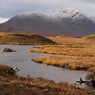 Wintery Rannoch Moor by Allison Peters