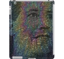 Psychedelic Faces - Trippy Psychedelic Posters iPad Case/Skin
