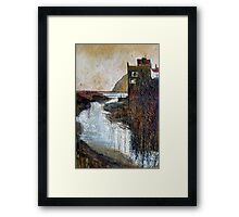 Gothic Staithes Framed Print