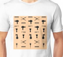 hairdresser hairdresser hairdresser trimmed beard trimmer Unisex T-Shirt