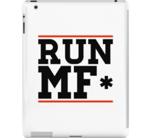 RUN MF* iPad Case/Skin