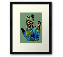 Save Our Trees. Framed Print