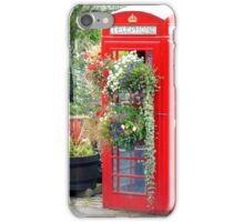 Telephone Box - Spofforth - North Yorkshire iPhone Case/Skin