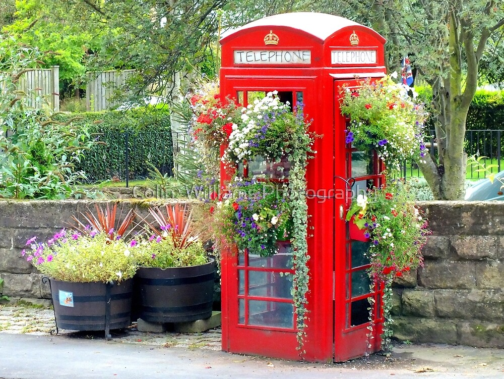 Telephone Box - Spofforth - North Yorkshire by Colin  Williams Photography