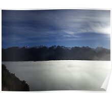 wakatipu afternoon. queenstown - aotearoa Poster