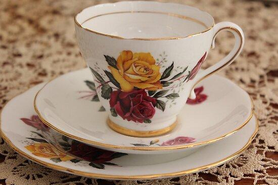 Ruthies Crazy Tea Set by Carol James
