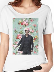 Flowercrowned Sherlock Women's Relaxed Fit T-Shirt