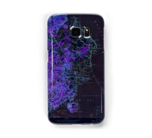 Massachusetts  USGS Historical Topo Map MA Duxbury 350101 1947 24000 Inverted Samsung Galaxy Case/Skin